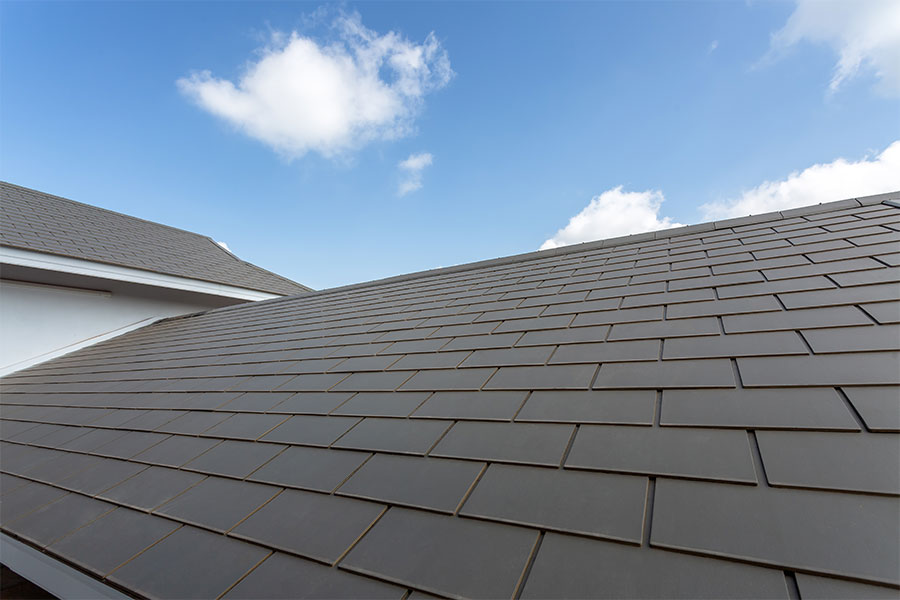 Dachdecker kleinformatige Faserzementplatten Dach Muenchen 1 - Dachdeckung mit kleinformatigen Faserzementplatten