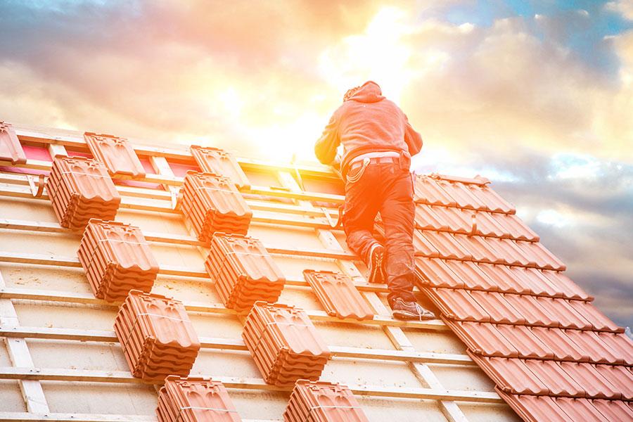 Dachziegel Muenchen 1 - Dachdeckerarbeiten